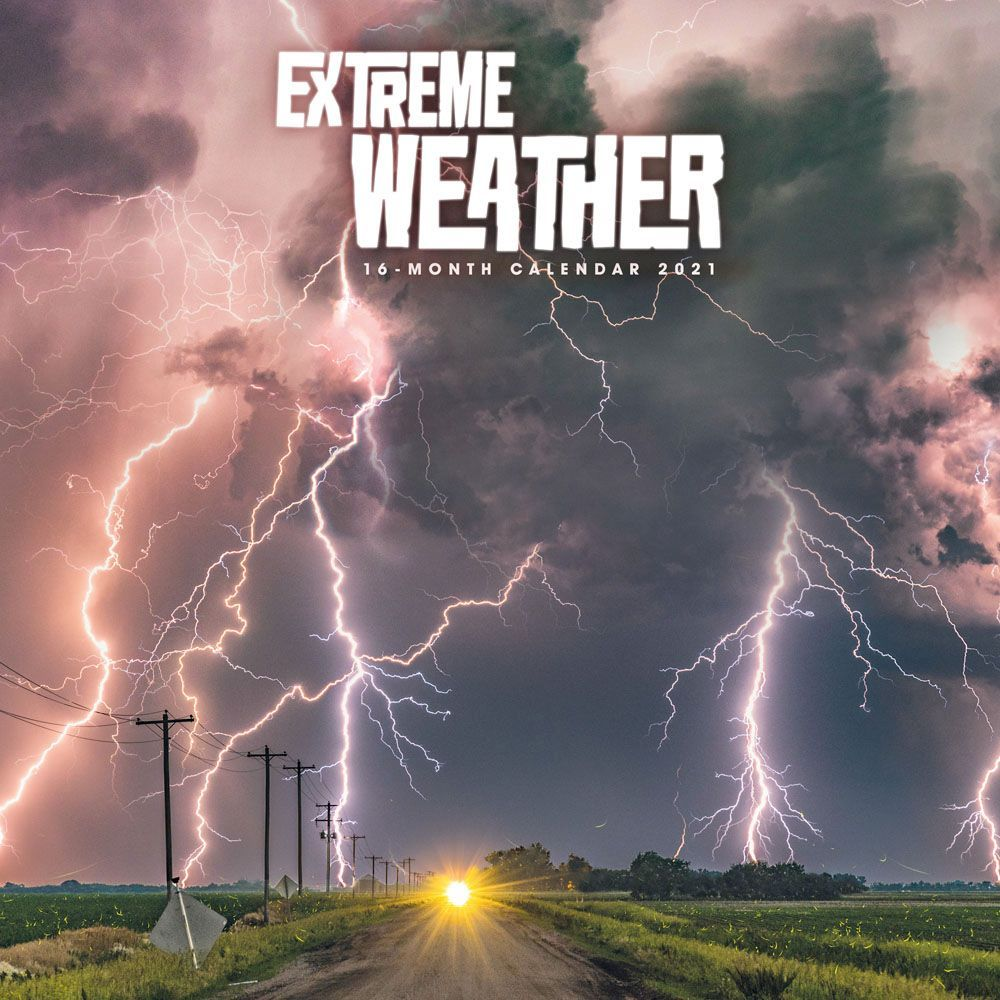 Extreme Weather 2021 Wall Calendar