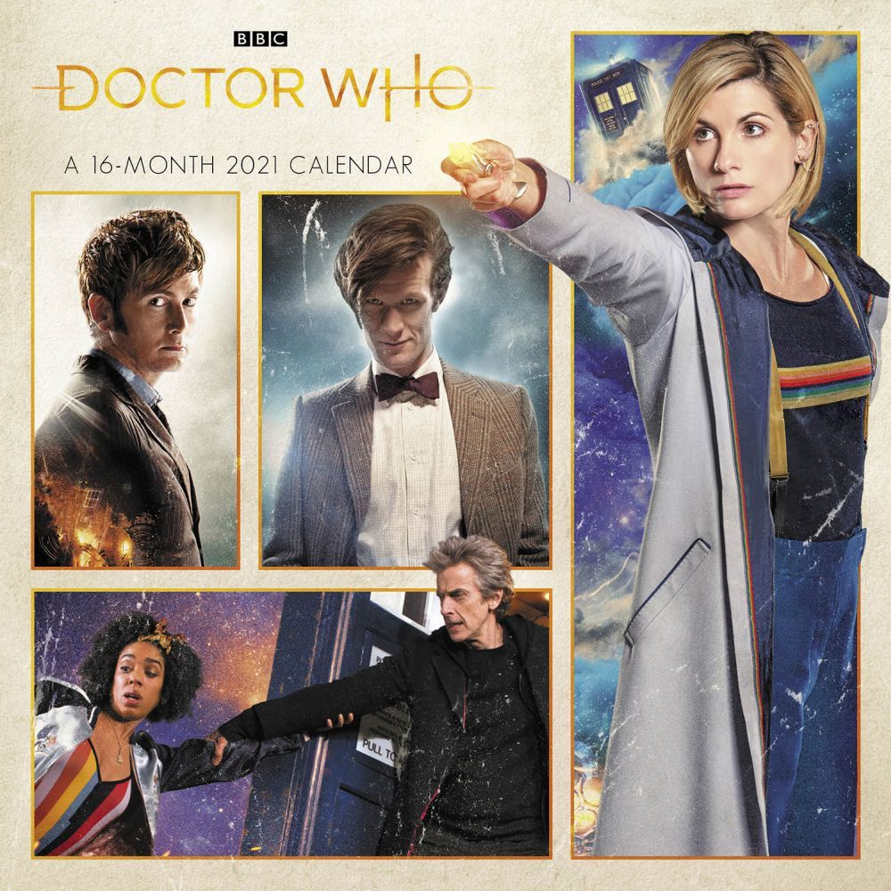 2021 Doctor Who Mini Wall Calendar