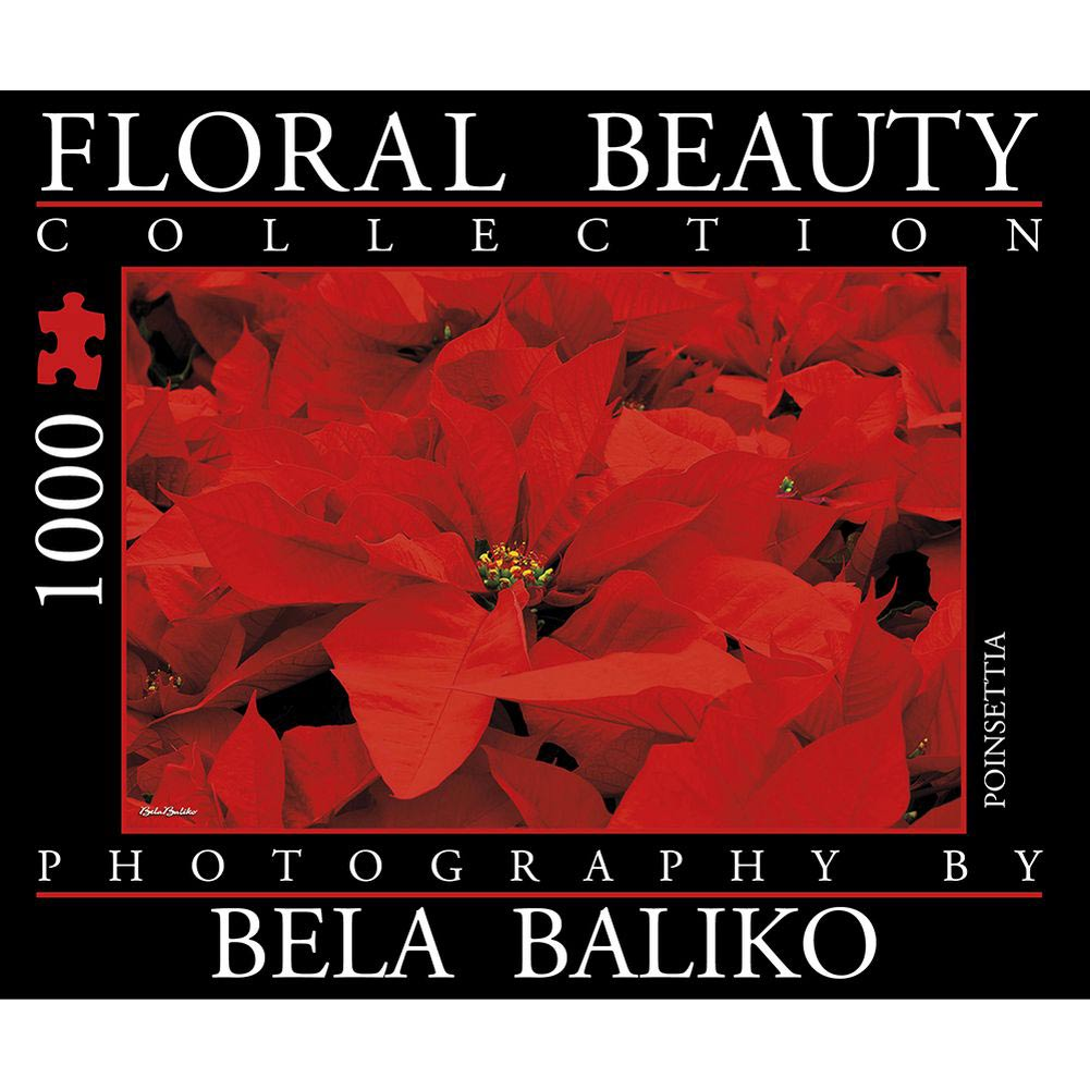 Best Bela Baliko Floral Beauty Poinsettia 1000 Piece Puzzle You Can Buy