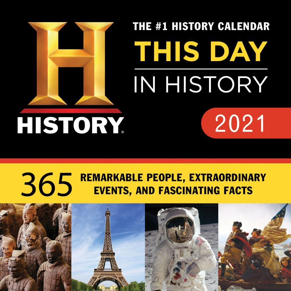 2021 History Channel Desk Calendar