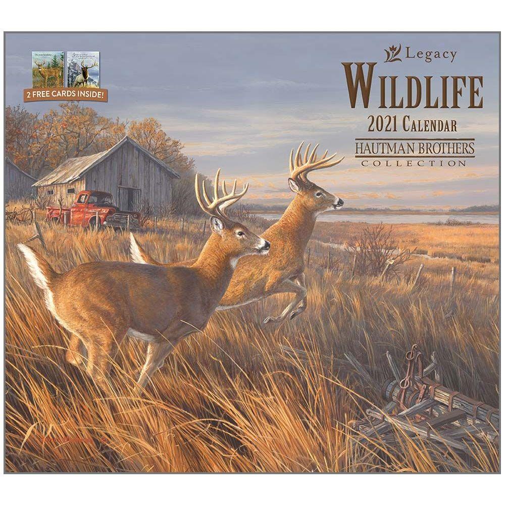 2021 Wildlife Hautman Wall Calendar