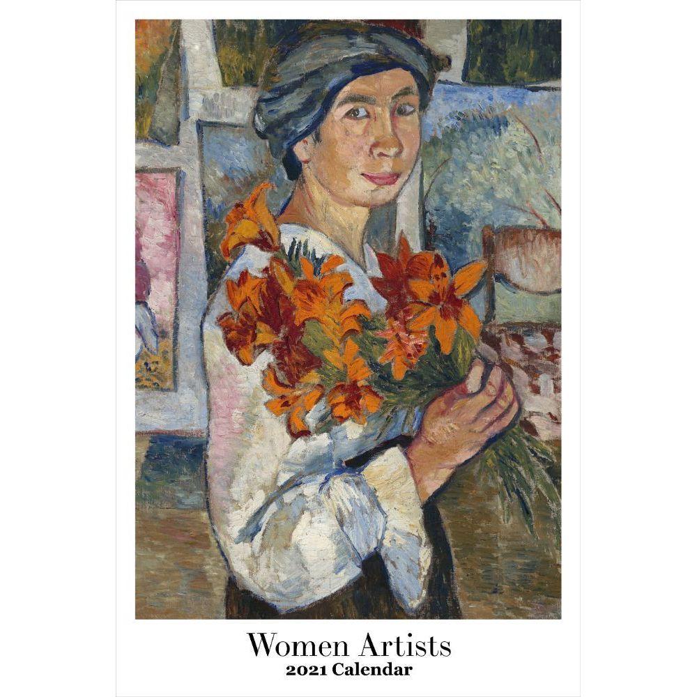 2021 Women Artist Wall Calendar