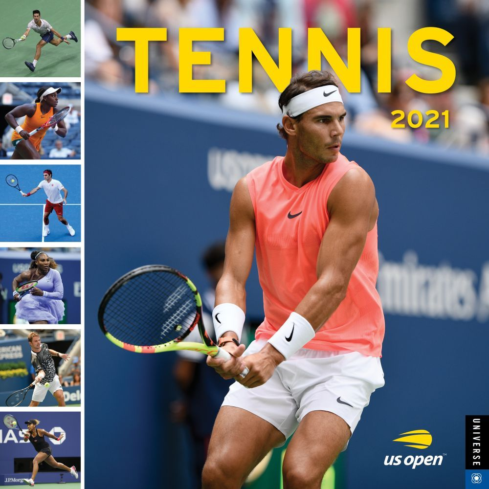 2021 Tennis US Open Wall Calendar