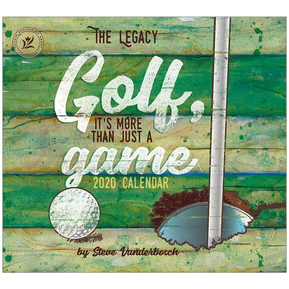 Golf Its More Than Just A Game 2021 Wall Calendar