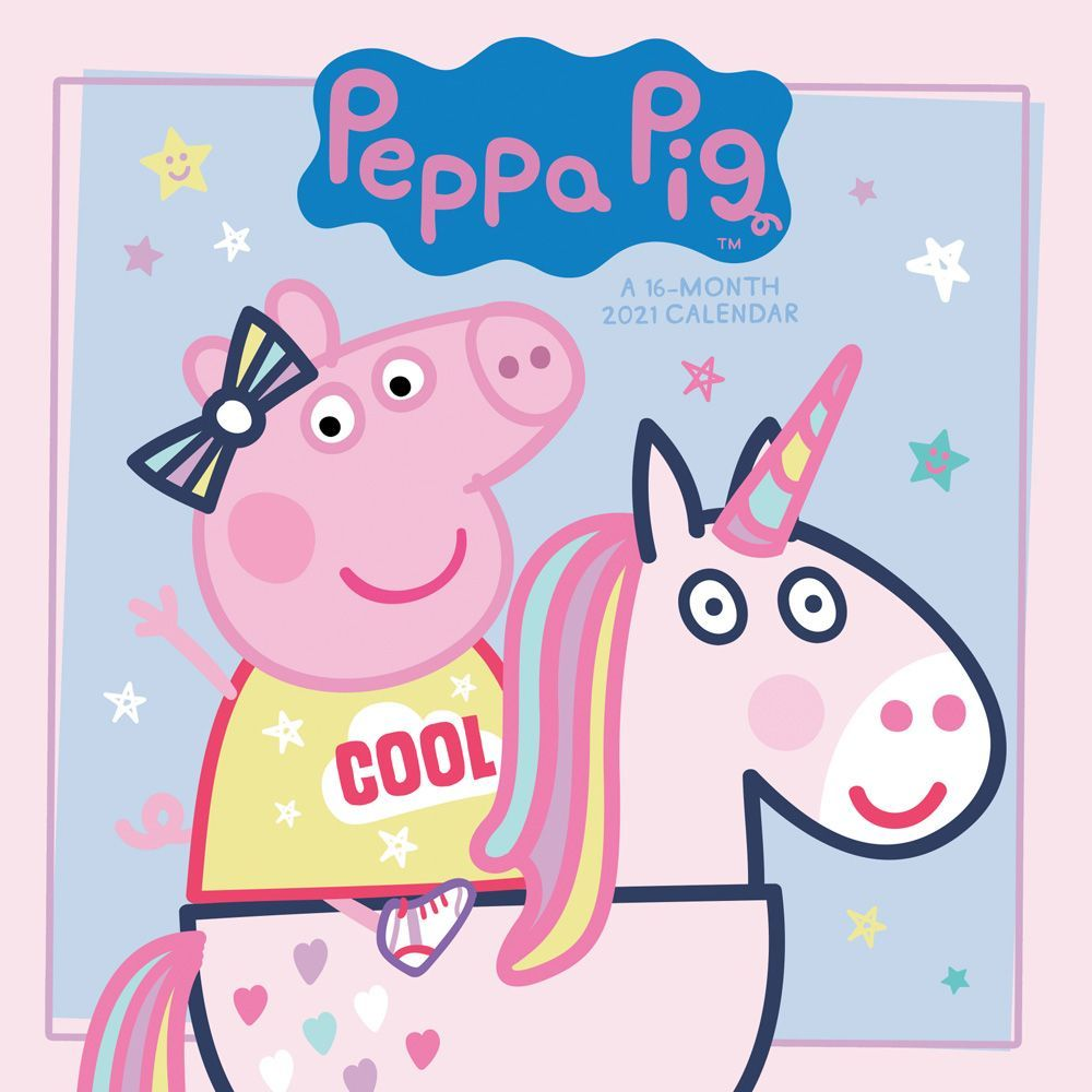 2021 Peppa Pig Wall Calendar