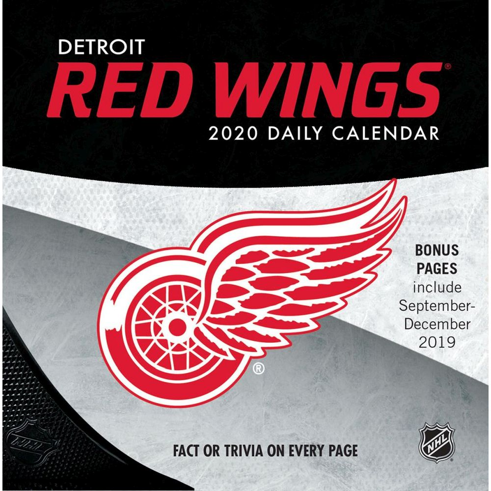Detroit Red Wings 2021 Desk Calendar