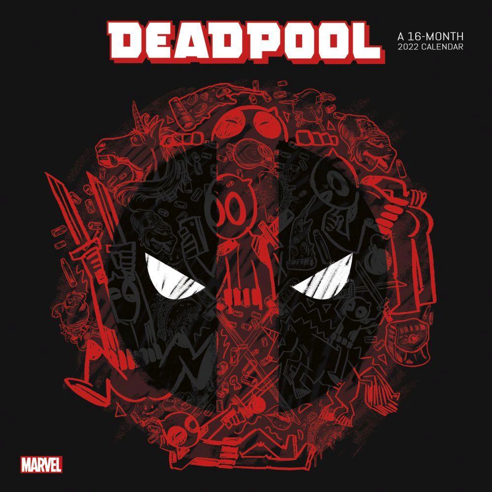 Deadpool 2022 Wall Calendar