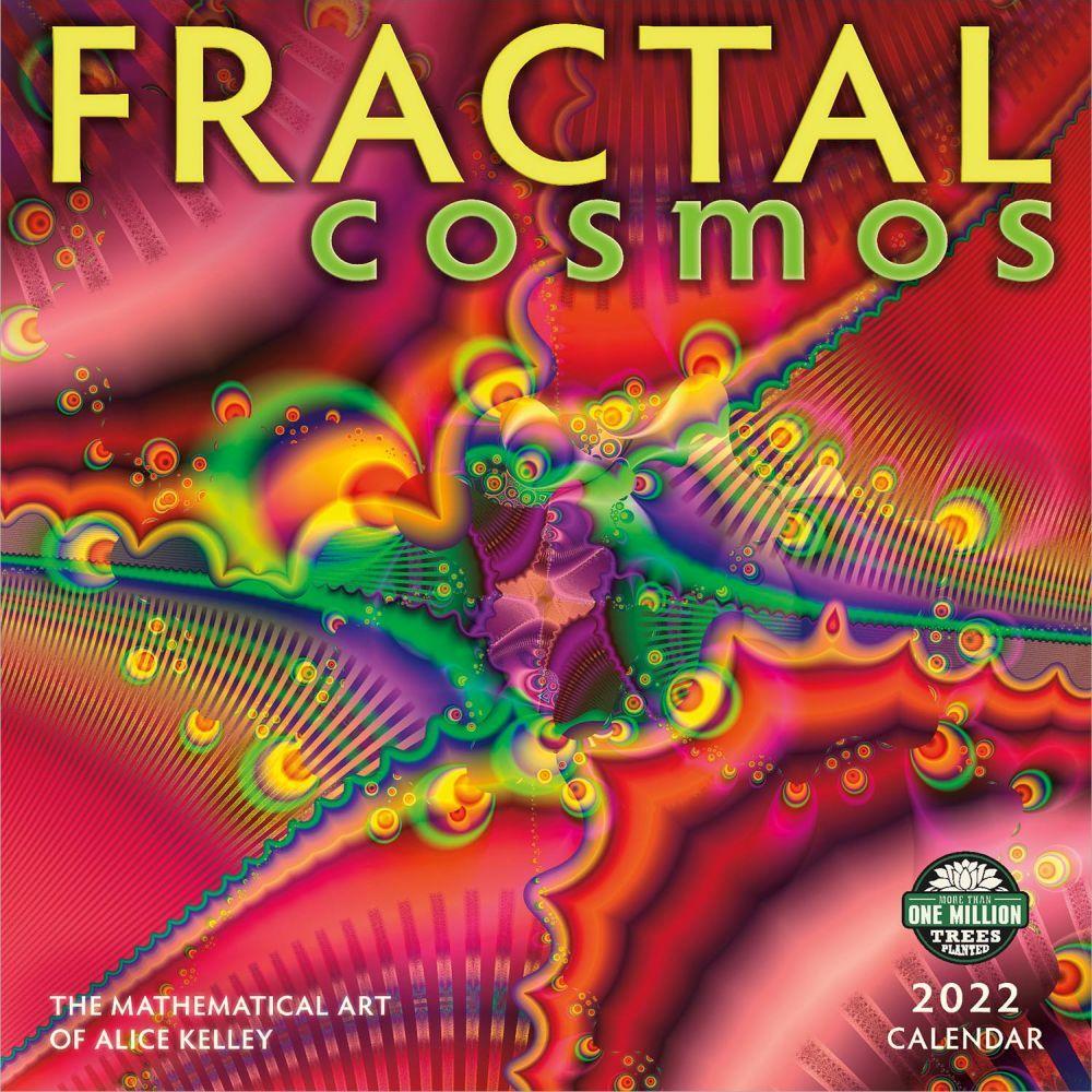 Fractals 2022 Wall Calendar