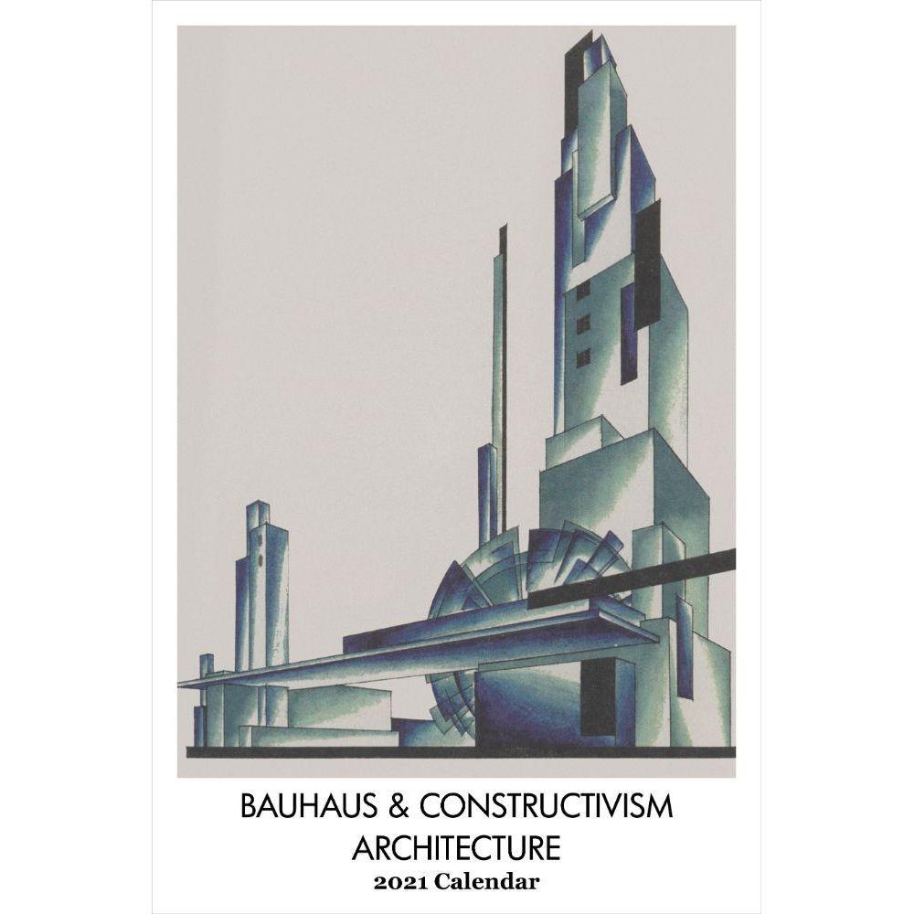 2021 Bauhaus Cont Architecture Poster Wall Calendar