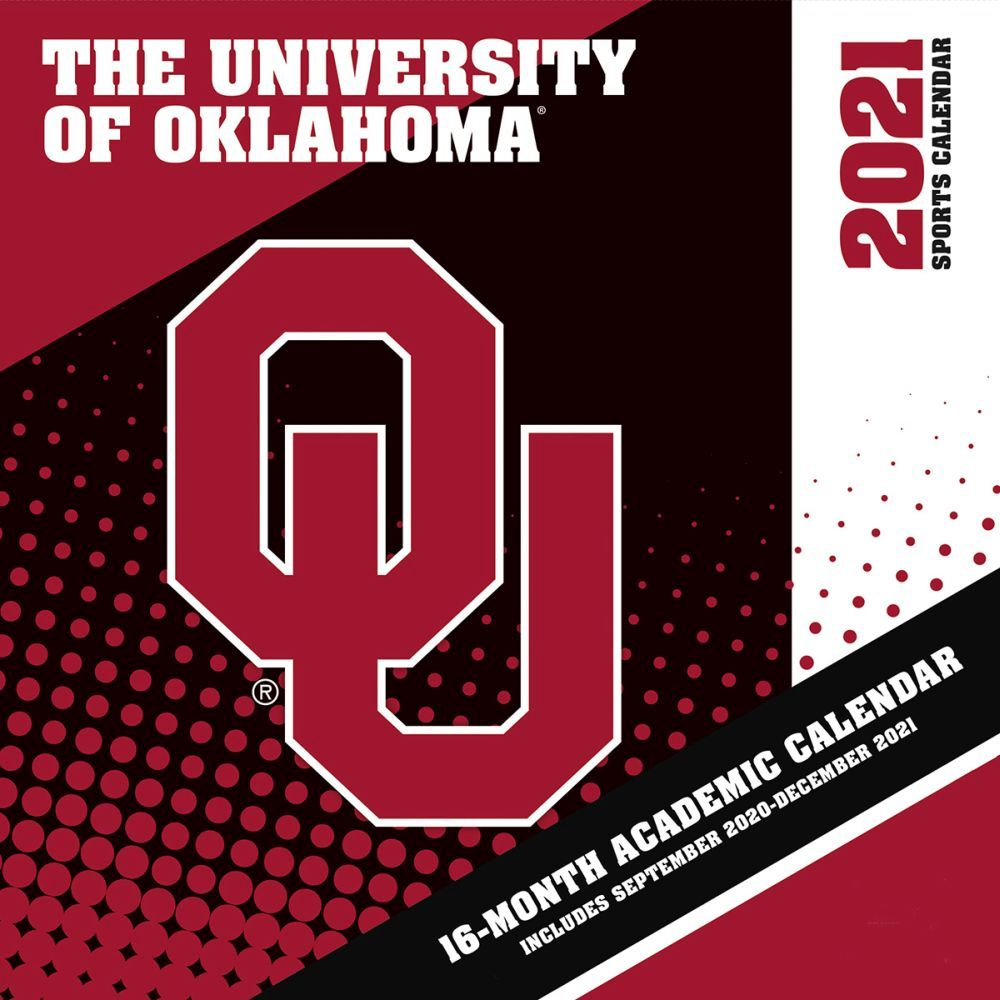 University of Oklahoma Sooner 2021 Wall Calendar