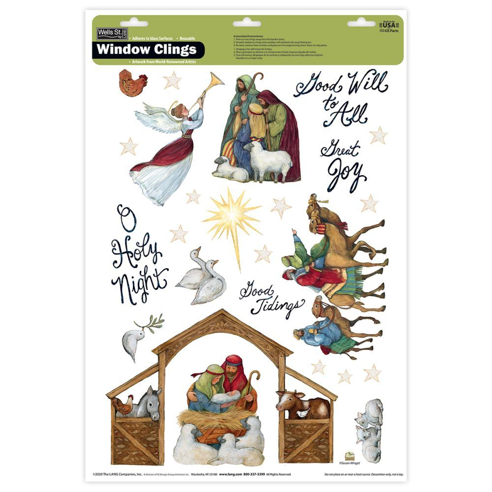 Nativity-Window-Cling
