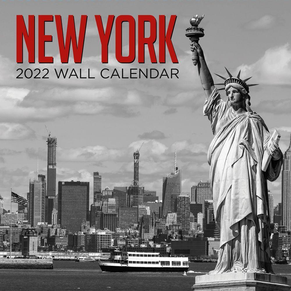 New York 2022 Poster Wall Calendar