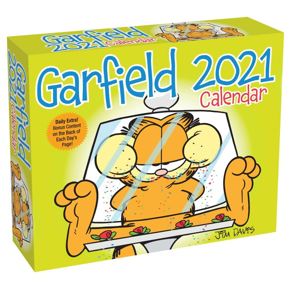 2021 Garfield Desk Calendar