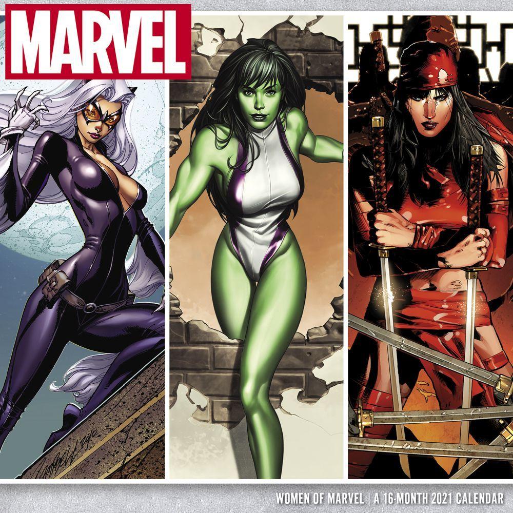 Women of Marvel Wall Calendar