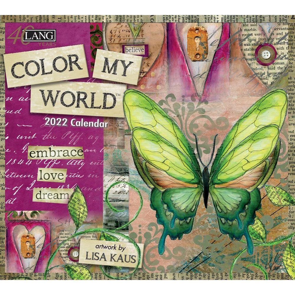 Color My World 2022 Wall Calendar