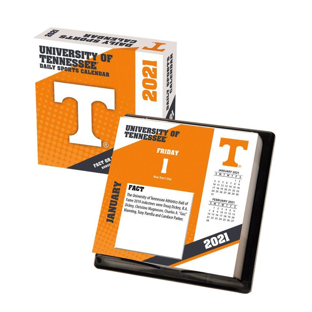2021 Tennessee Volunteers Desk Calendar