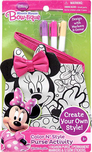 Minnie Mouse Color n Style Small Purse (201400006765 029116922907) photo