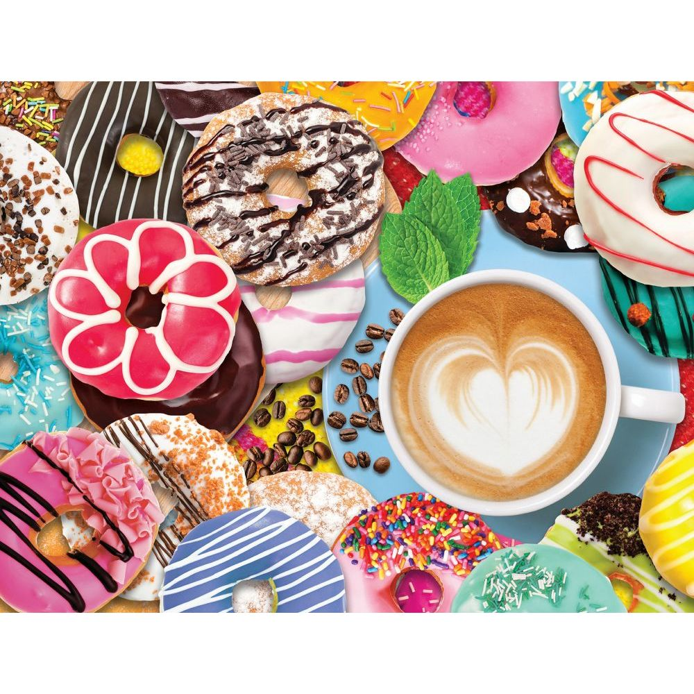 Donuts-N-Coffee-500pc-Puzzle-1