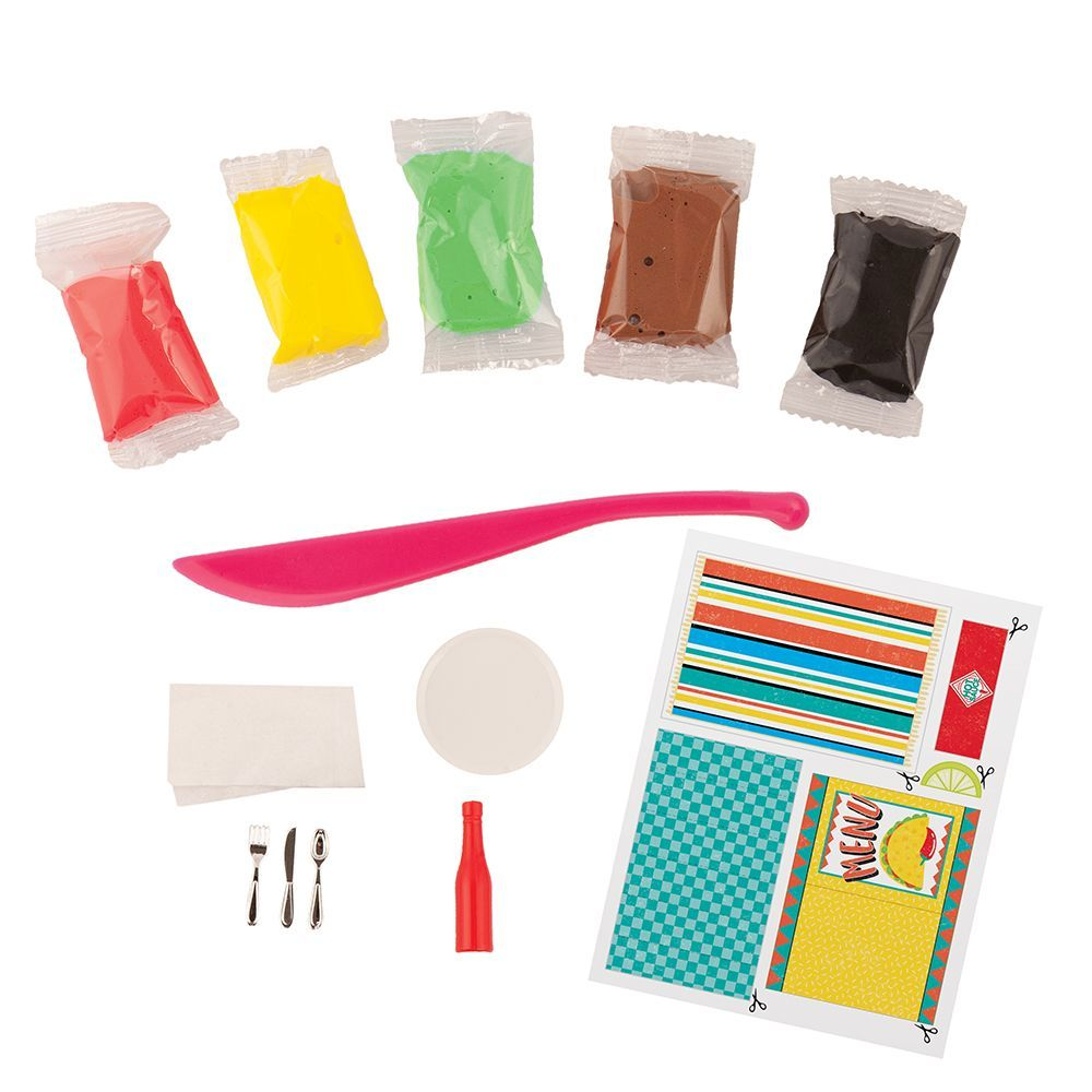 Extra Small Taco Dinner Mini Clay Kit-2