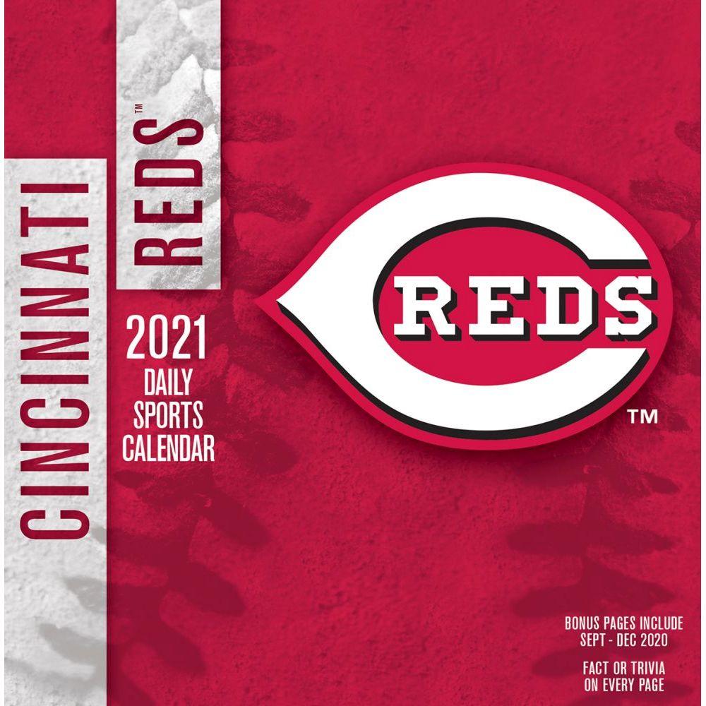 Reds Schedule 2022 Calendar.Cincinnati Reds Desk Calendar Calendars Com
