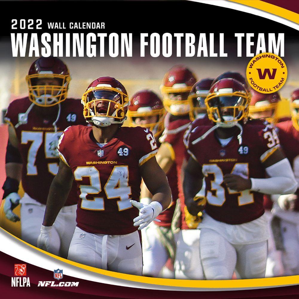 Washington Redskins 2022 Wall Calendar