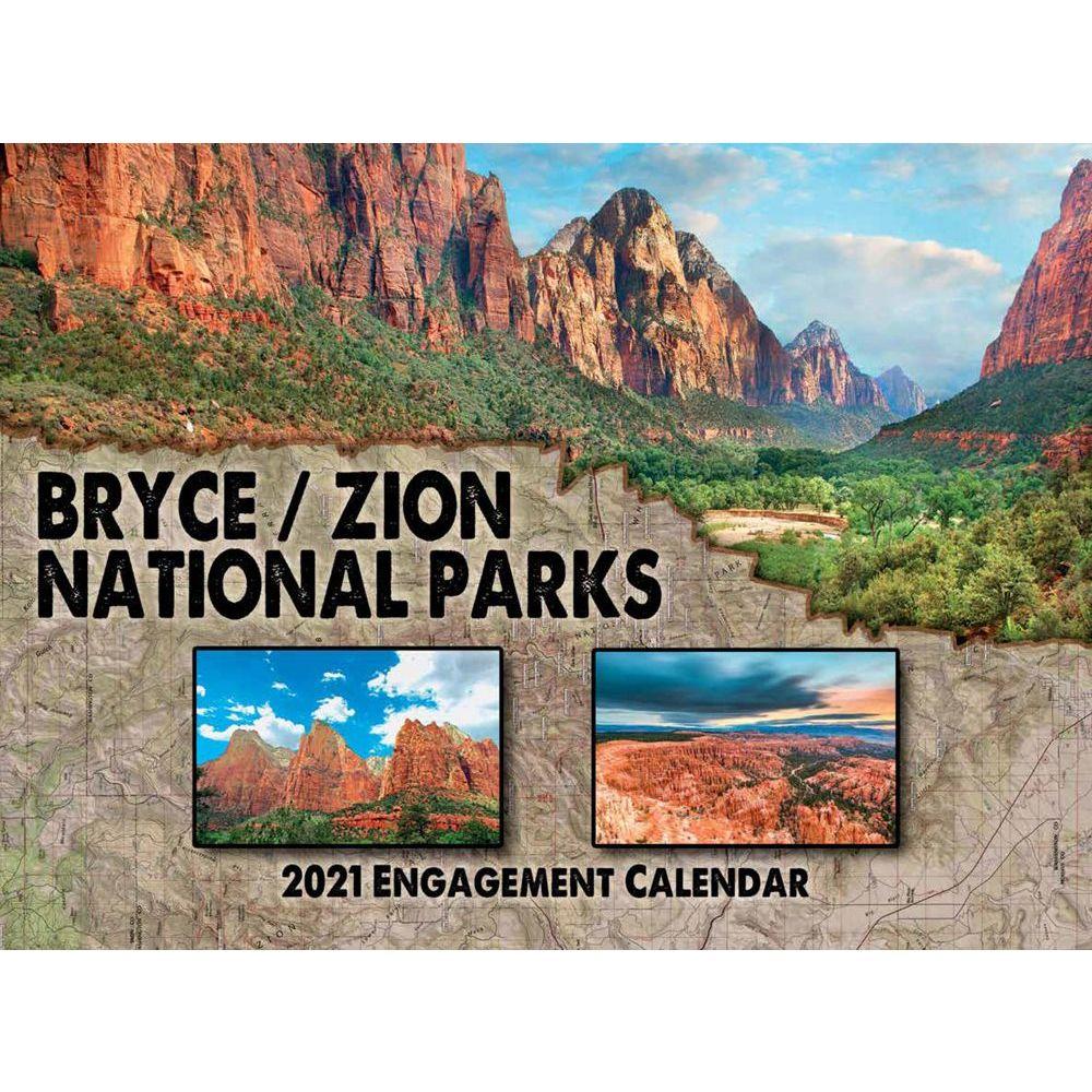 2021 Bryce Zion Wall Calendar