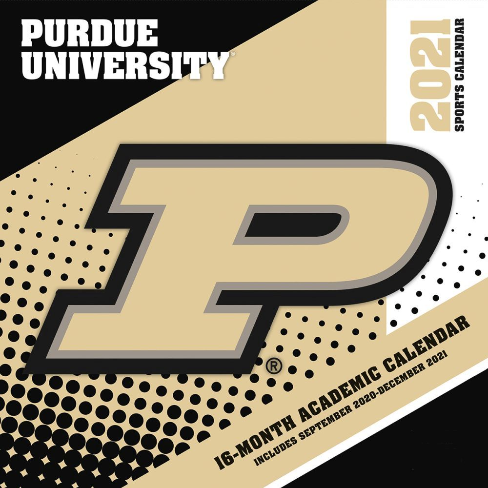 Purdue University Boilermakers 2021 Wall Calendar