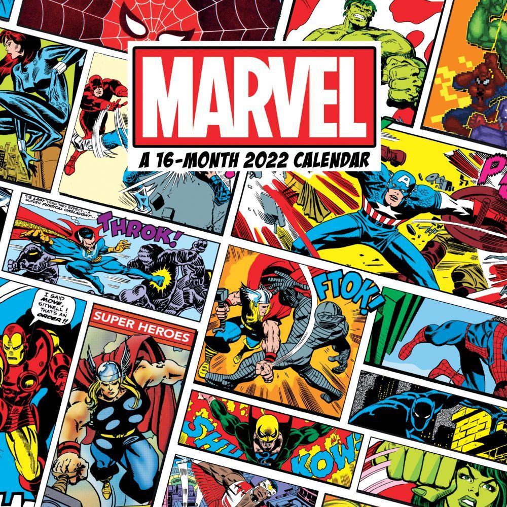 Marvel Comics 2022 Wall Calendar