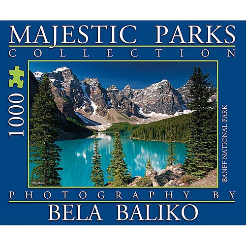 Best Majestic Parks Moraine Lake Park 1000 Piece Puzzle You Can Buy