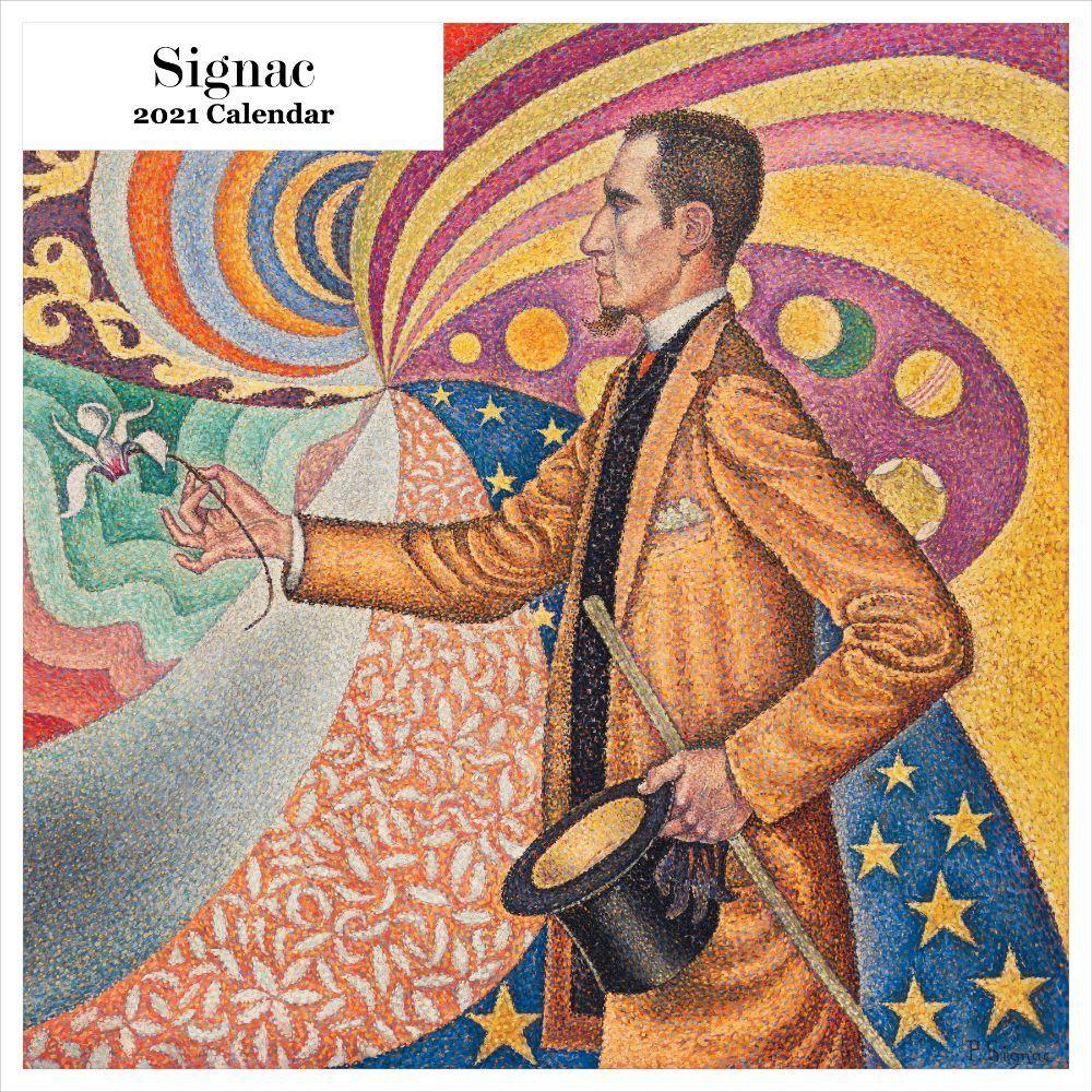 2021 Signac Wall Calendar