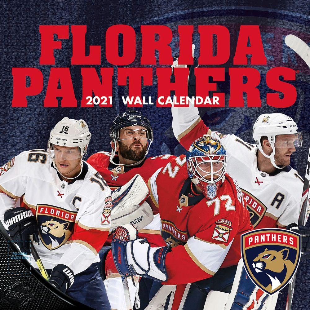 2021 NHL Florida Panthers Wall Calendar