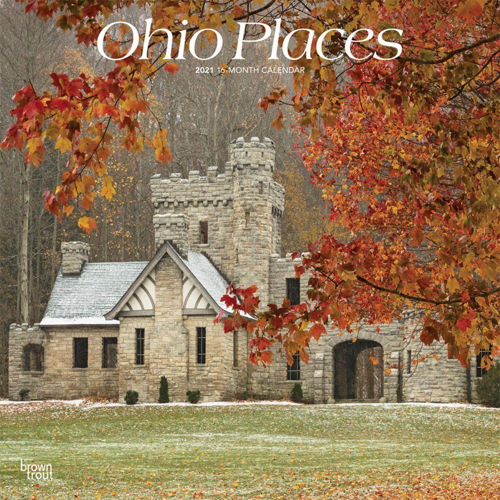 Ohio Places 2021 Wall Calendar