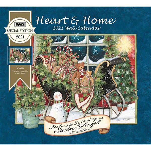 2021 Heart & Home Special Edition Wall Calendar