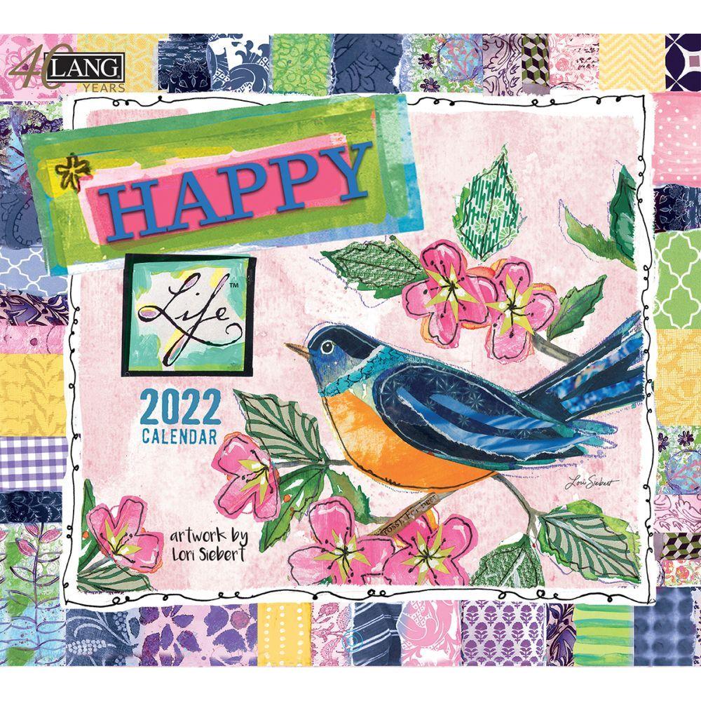Happy Life 2022 Wall Calendar