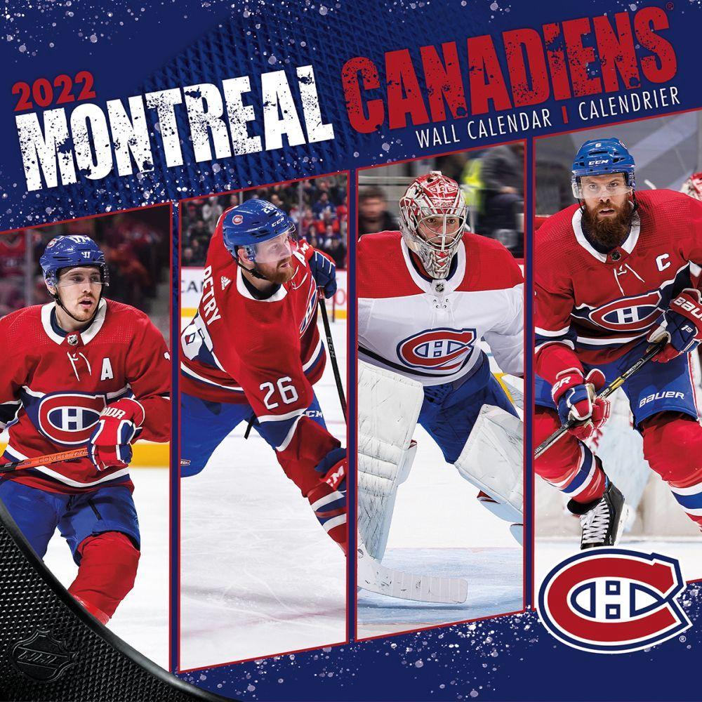 Montreal Canadiens 2022 Wall Calendar