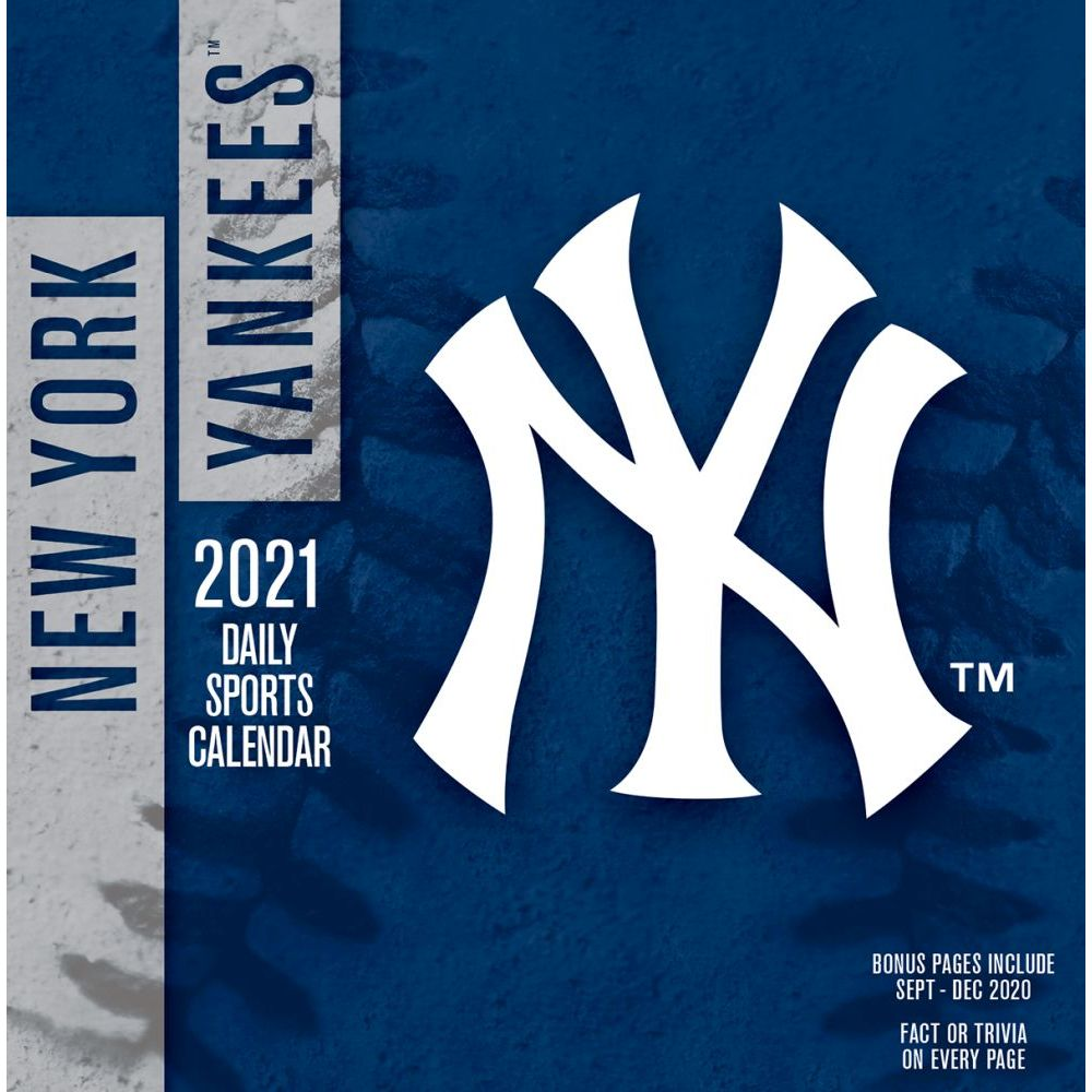 Calendar | Yankee | Desk | York | New