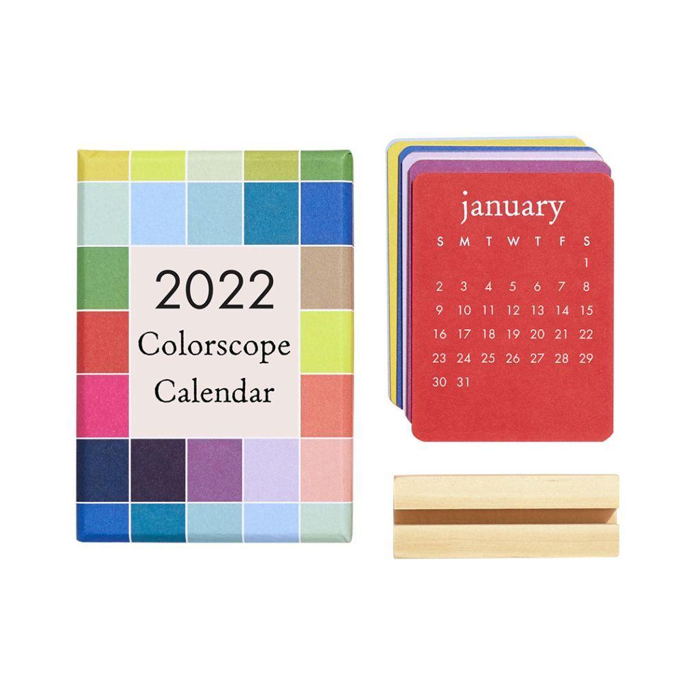 Mini Colorscope Personality 2022 Calendar