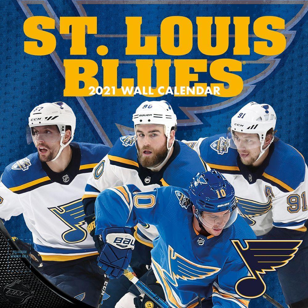 2021 St Louis Blues Team Wall Calendar