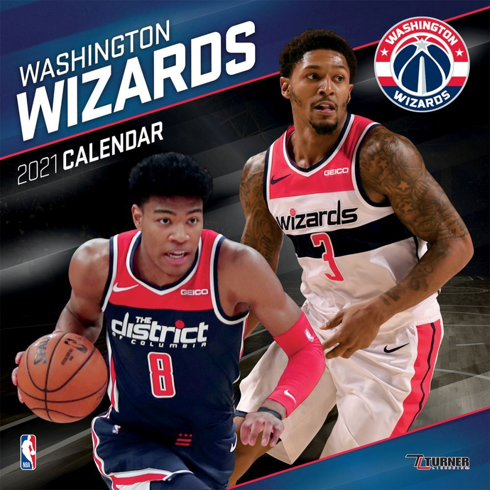 2021 Washington Wizards Team Wall Calendar