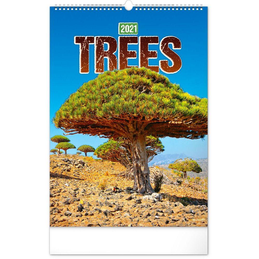 2021 Trees Poster Wall Calendar