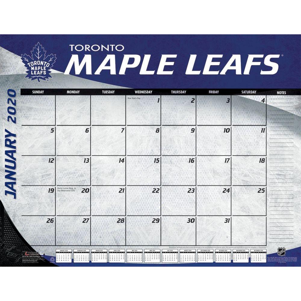 Toronto Maple Leafs 2021 Desk Pad