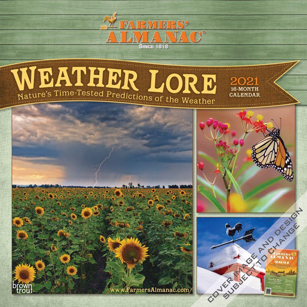 Farmers Almanac Weather 2021 Wall Calendar
