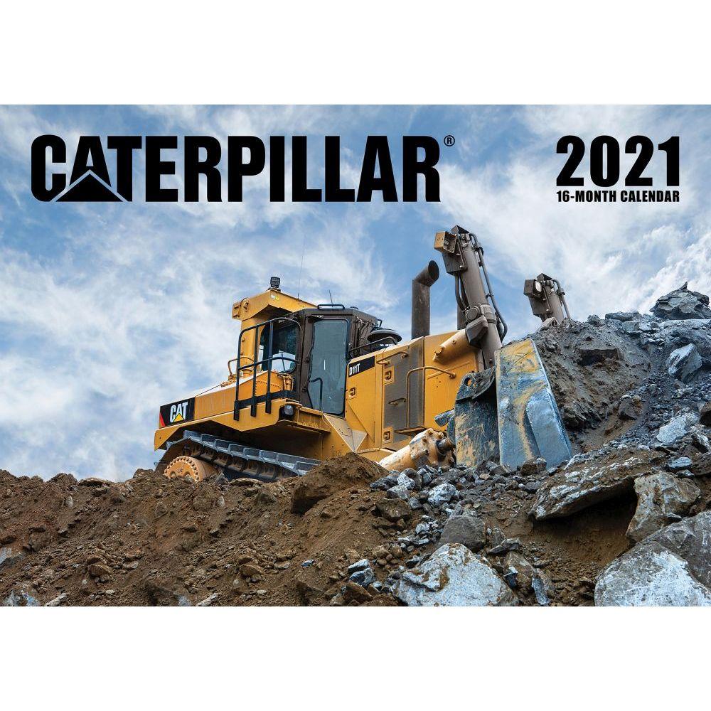 2021 Caterpillar Wall Calendar