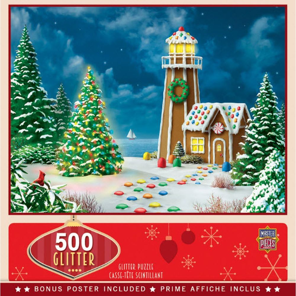 Best Gingerbread Lighthouse 500pc Puzzle You Can Buy
