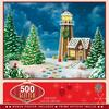 Gingerbread Lighthouse 500pc Puzzle