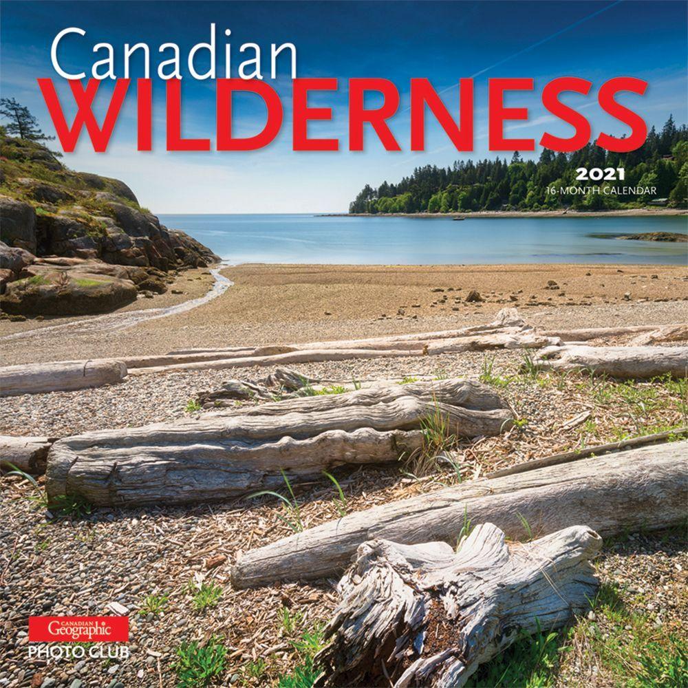 2021 Canadian Wilderness Wall Calendar