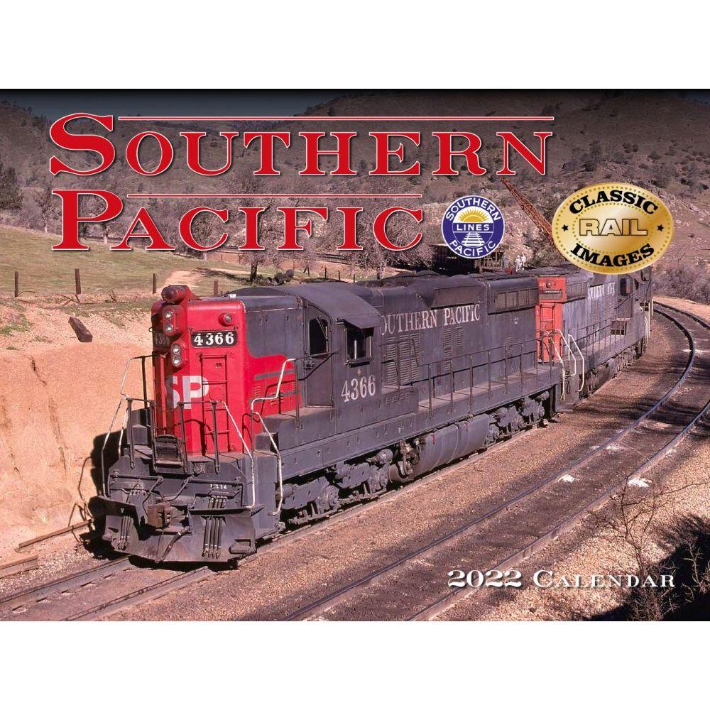 Trains Southern Pacific Railroad 2022 Wall Calendar