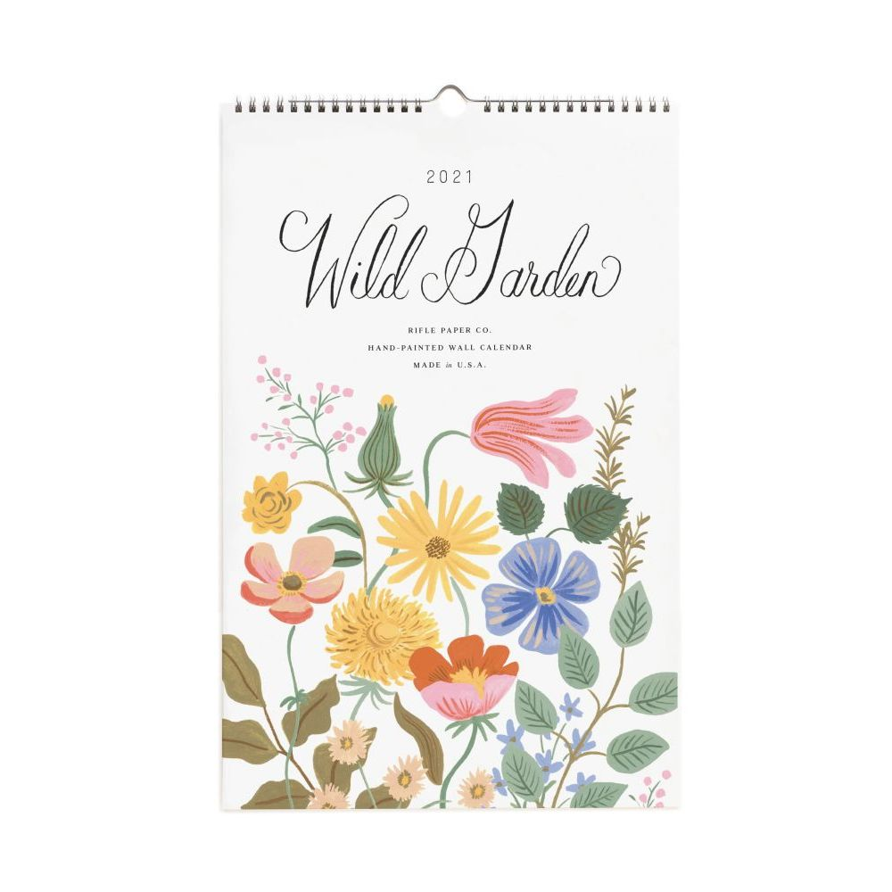 2021 Wild Garden Wall Calendar