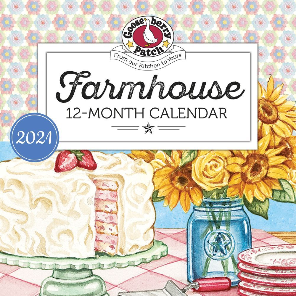 2021 Gooseberry Patch Wall Calendar