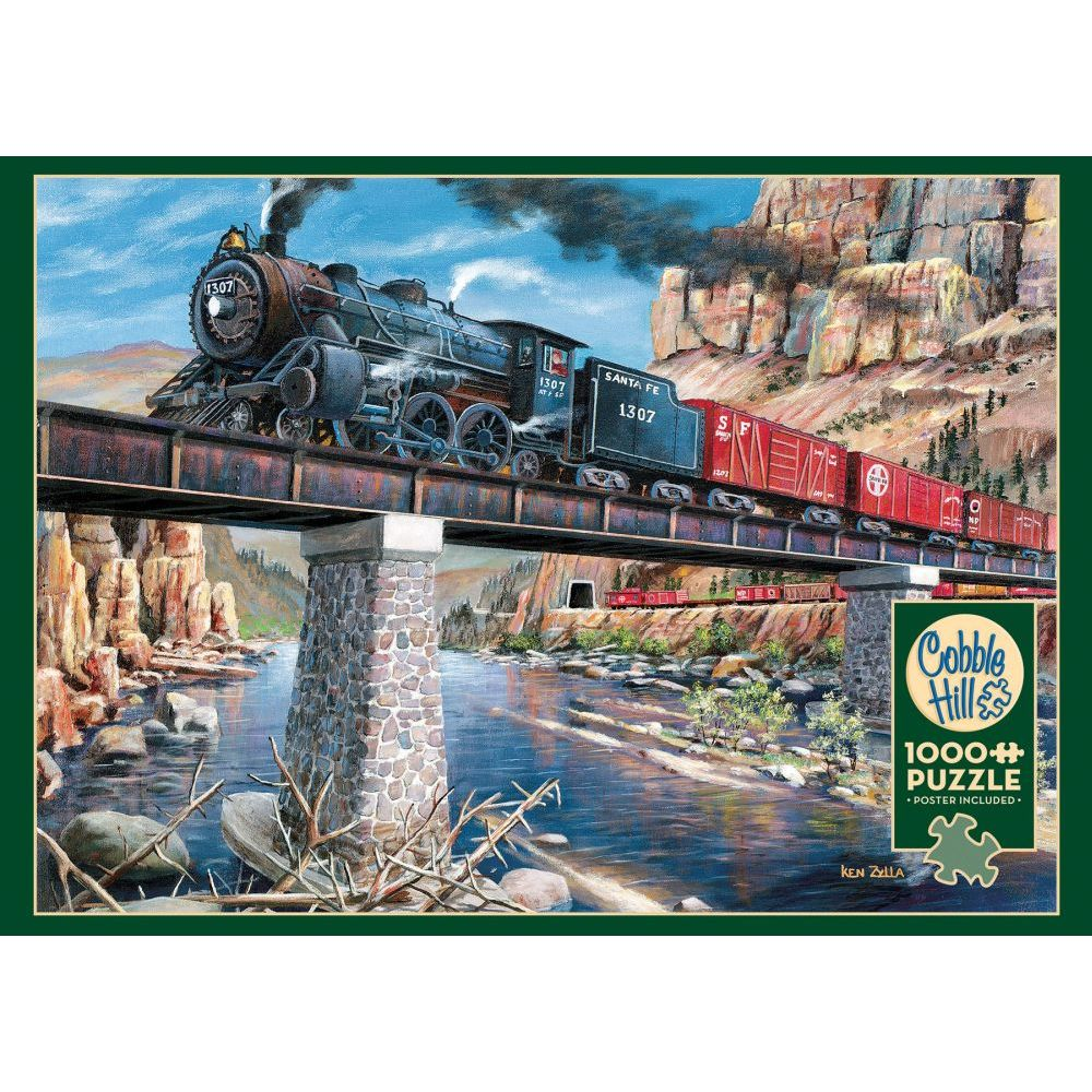 Best Stone Steel and Steam 1000pc Puzzle You Can Buy
